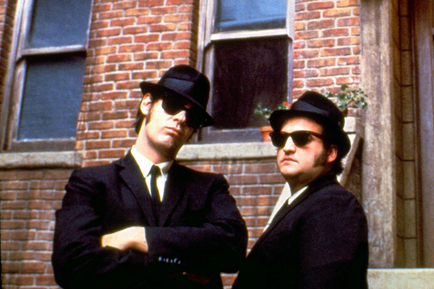 Image of the Blue Brothers from the film